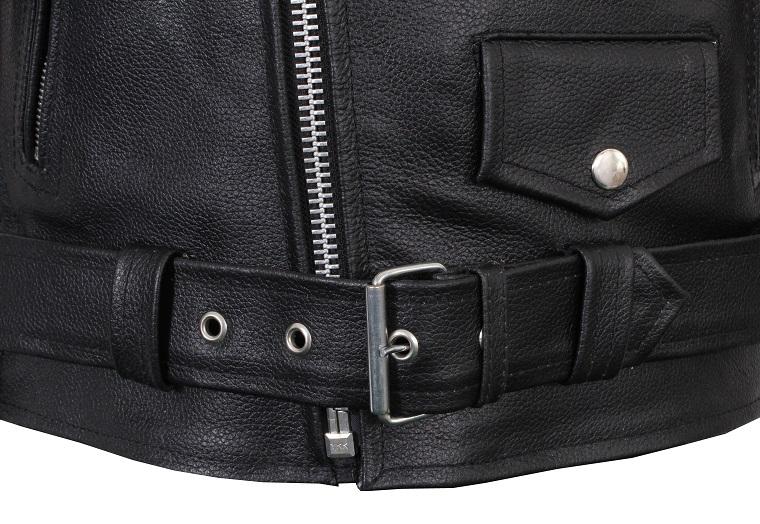 Křivák - kožená bunda na moto RSA  842cadd0b25