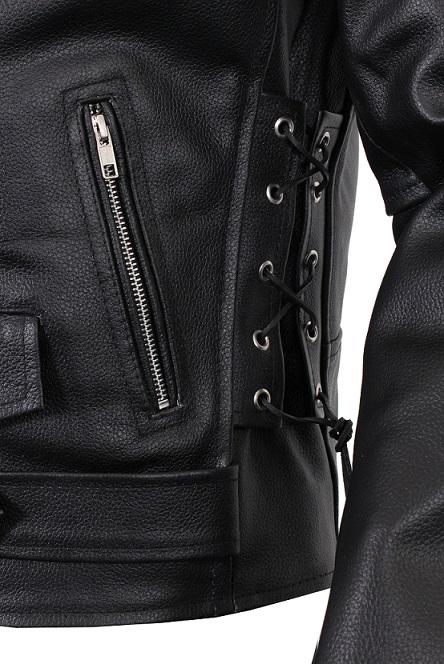 Křivák - kožená bunda na moto RSA  0f7889dfbd