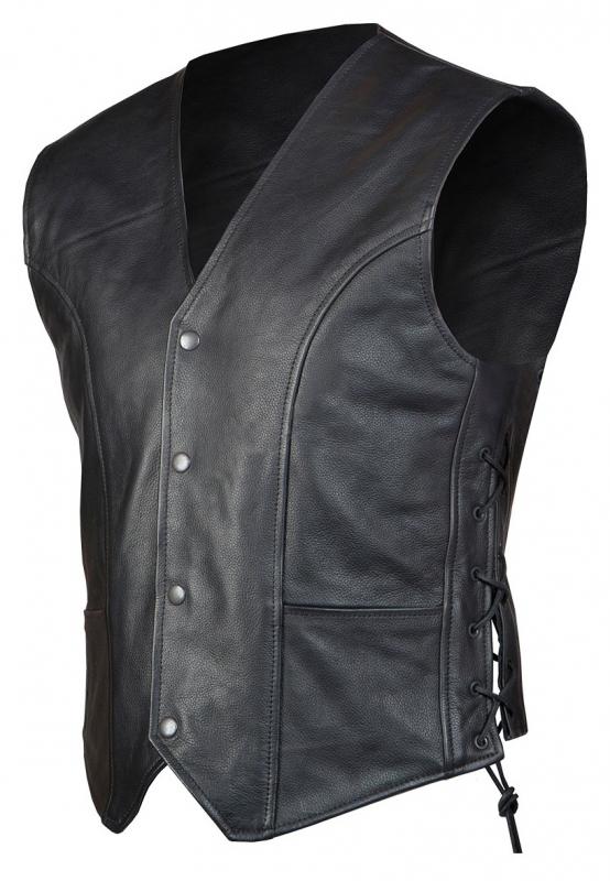 f6f2efb72 Kožená vesta na motorku Ozone Staff   Motorkářské oblečení, boty ...