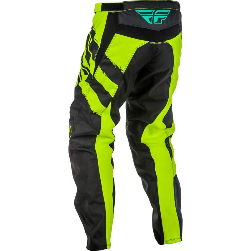 Motokrosové kalhoty FLY Racing F-16 2018 - USA černo-fluo žluté ... 33bc1fb266