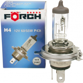 Žárovka FORCH H4 - 12V 60/55W